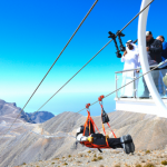 Jebel-Jais-Flight-Emirate-längste Zipline der Welr
